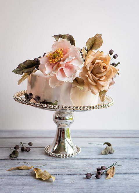 The Essence of Romantic Floral Sugar Art (3 Days)