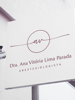DRA. ANA VITÓRIA ANESTESIOLOGISTA