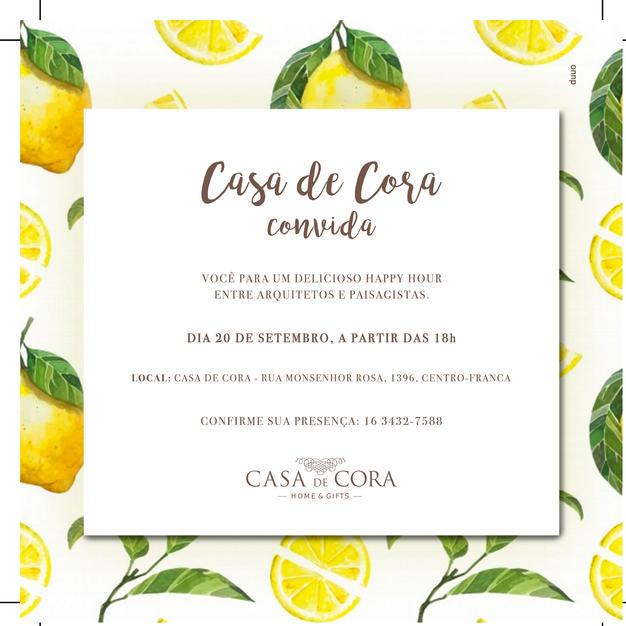 CASA DE CORA