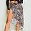 Thumbnail: Ageless Leopard Print Midi Wrap Skirt