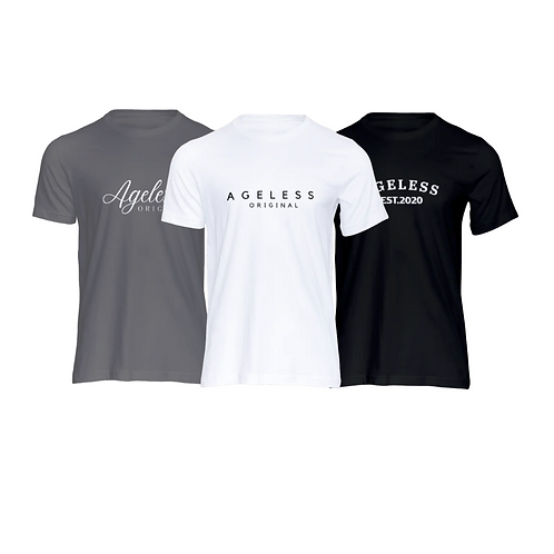 Ageless 3 Pack Tees
