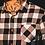 Thumbnail: Ageless Mens Black & White Checked Shirt