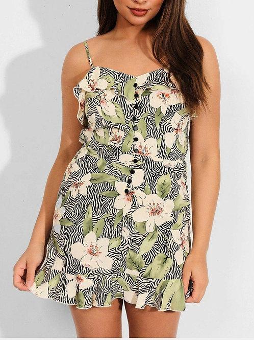 Ageless Floral Cami Dress
