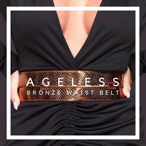 Ageless Bronze Waist Belt