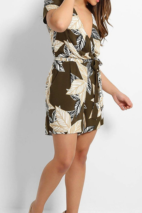 Ageless Printed Playsuit
