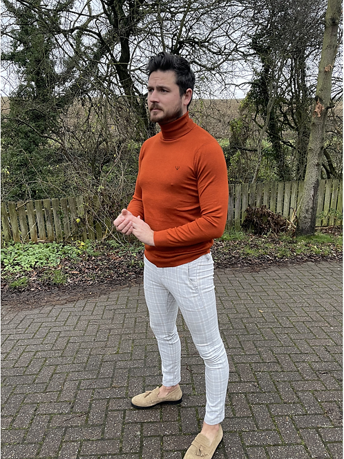 Ageless Mens Roll Neck Jumpers