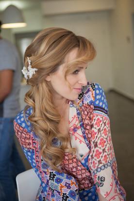 bridel half updo hairstyle