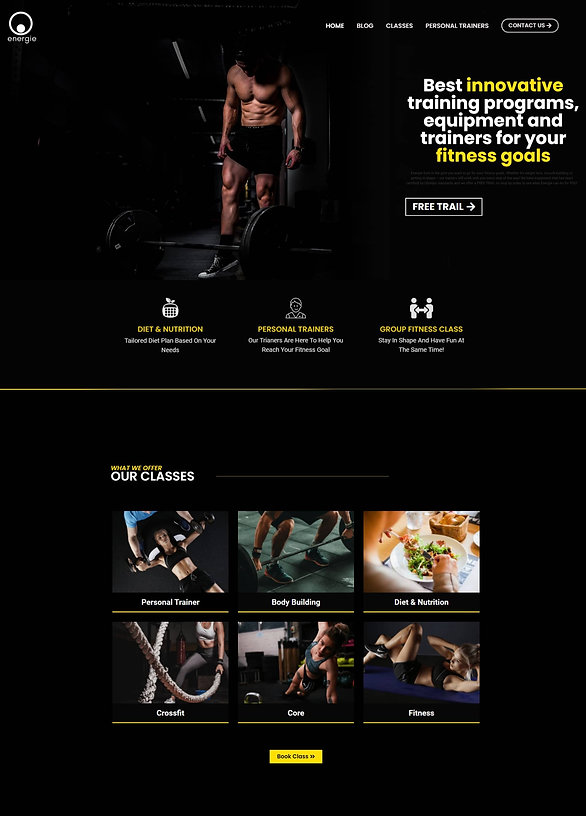 Gymnastics Website