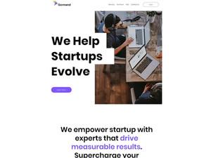 Gorman - Startup Website