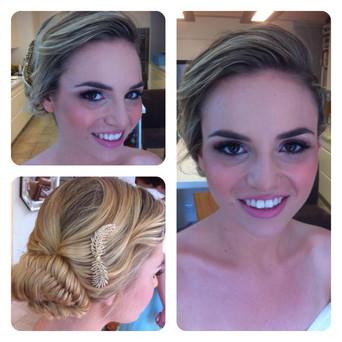bridel updo hair up