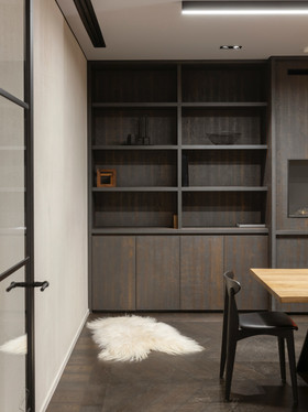 Renovation of cabinets and shelves in an accounting firm