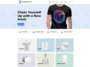 Printing Ecommerce Website