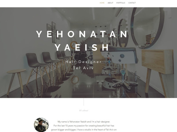 Hair designer website