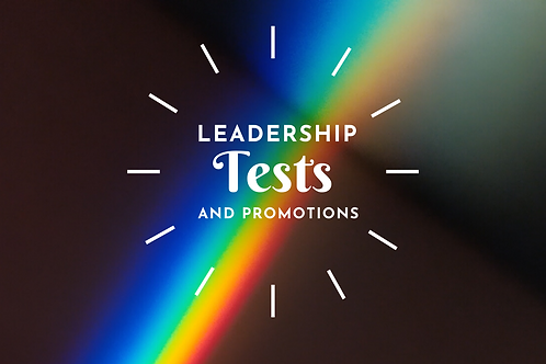 Leadership Tests & Promotions