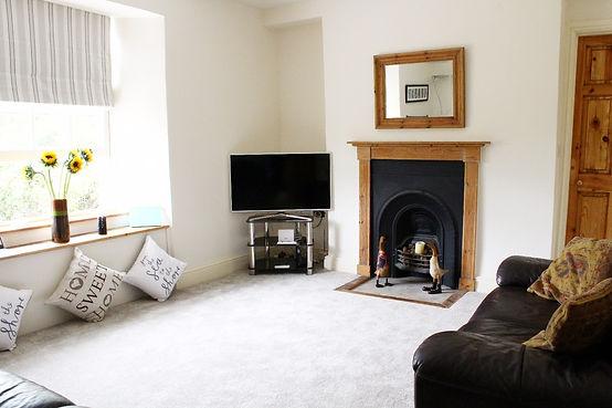 Lanthorn House, Porthcothan Bay, 1st floor living room