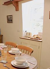 Lanthorn House Porthcothan Bay Breakfast Room