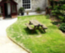 Lanthorn HOuse - front garden & parking
