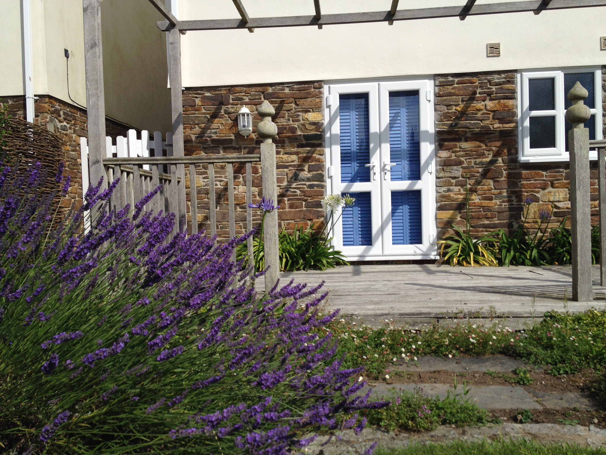Lavender Borders & Patio Access