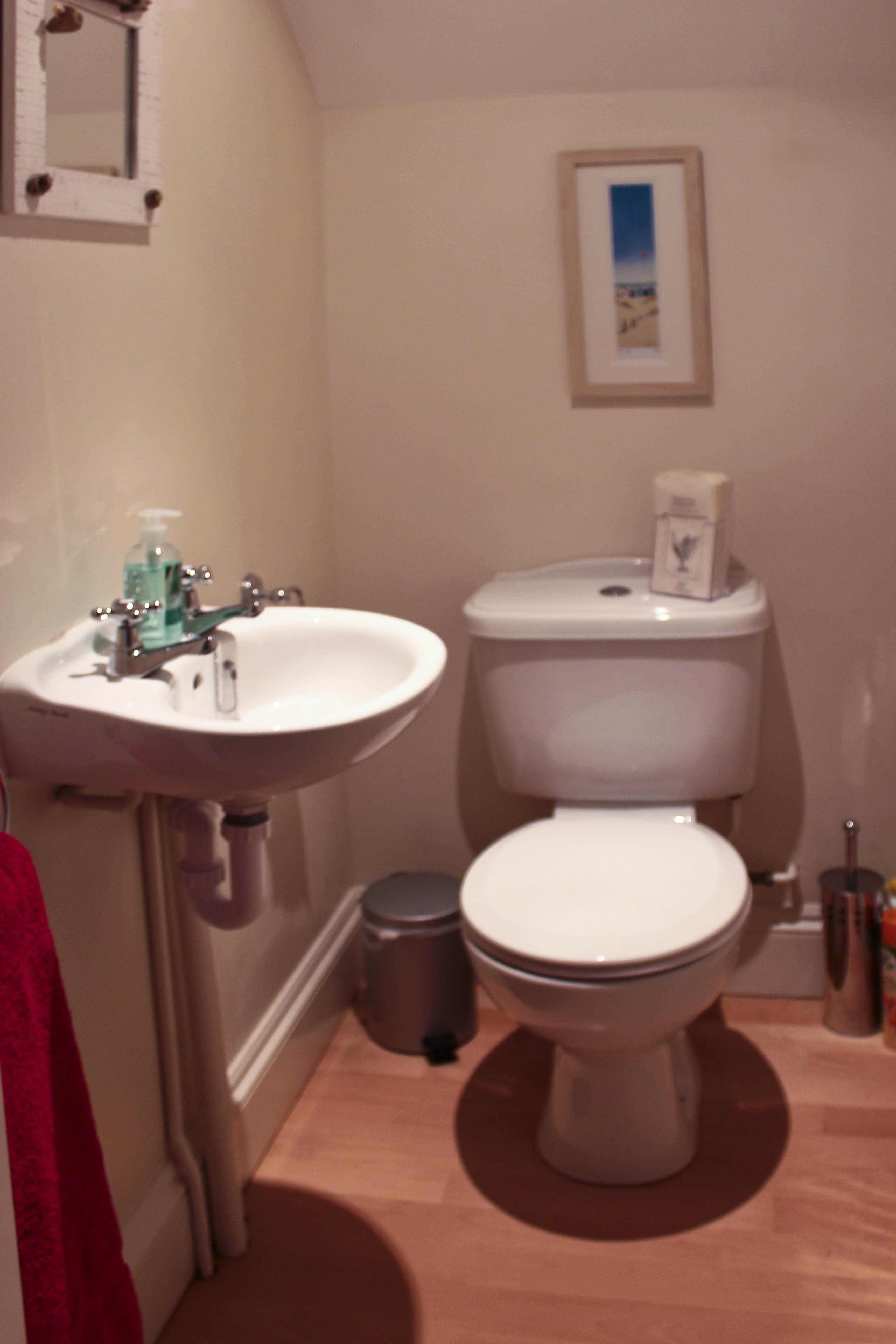 Separate WC next kitchen & playroom