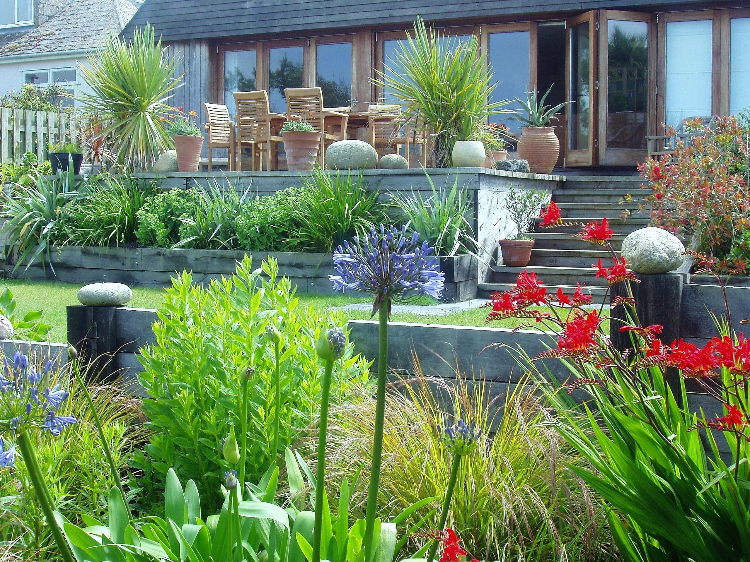 Landscape garden planting