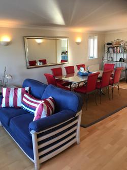 Bay Dining room & sitting area designer