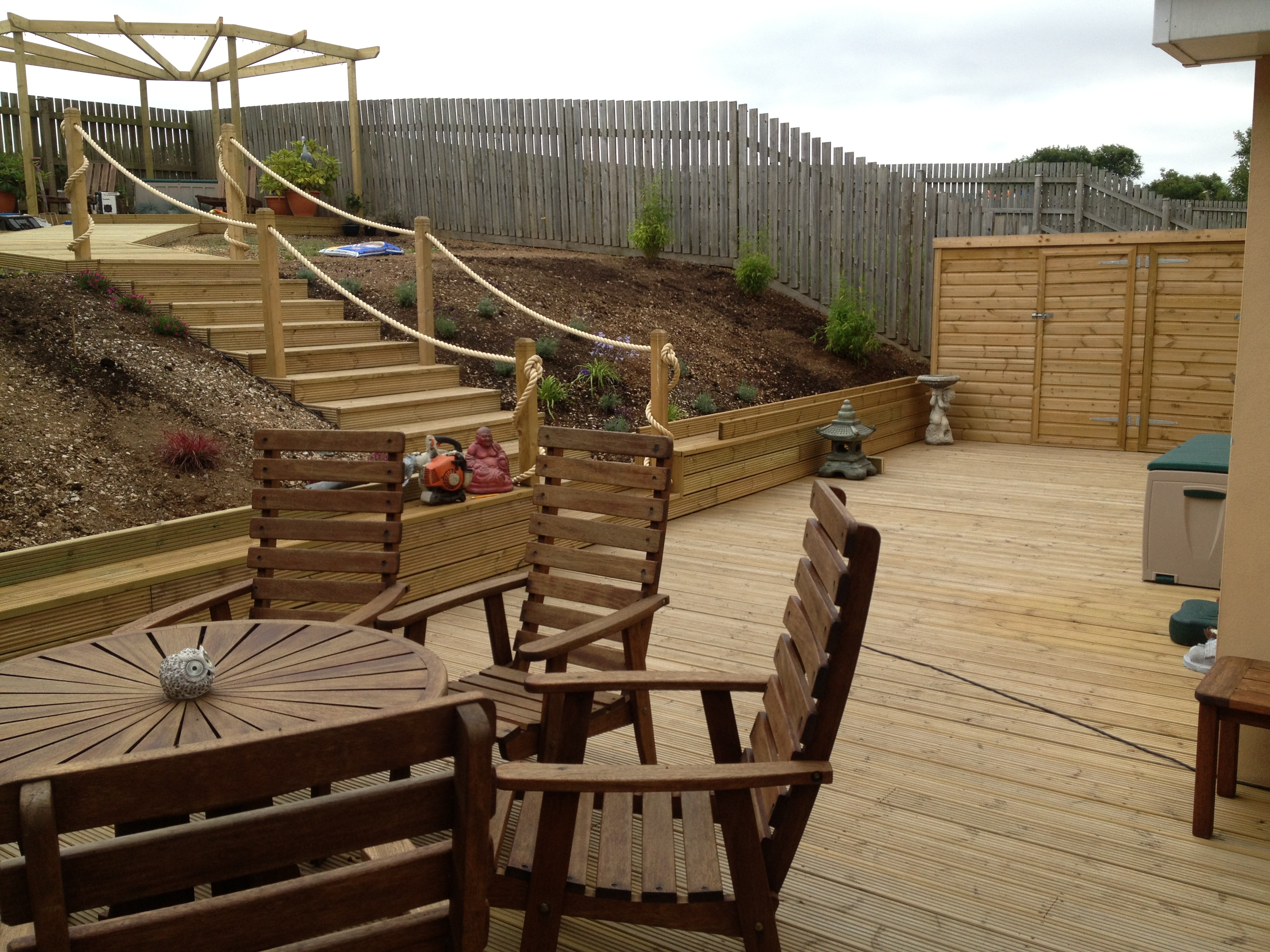 North Cornwall Decking