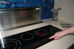 Glass Hob & Extractor