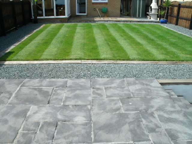 Cornish Landscape Patio