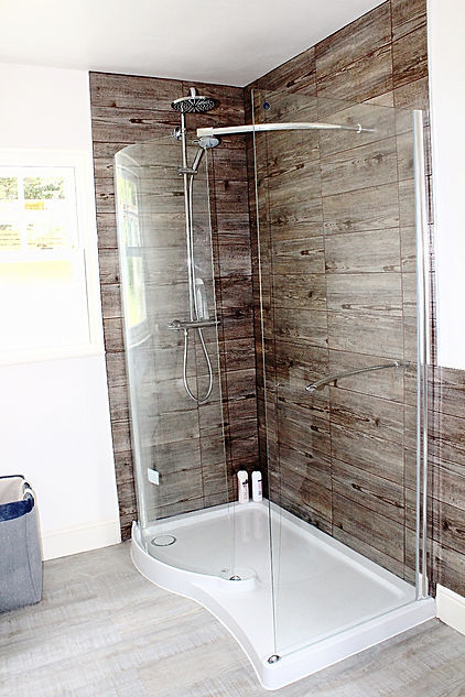 Luxury Master ensuite shower