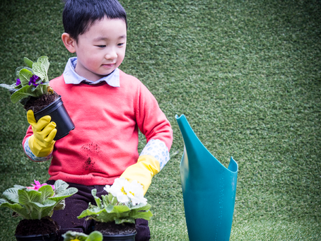 As Spring approaches, help your budding gardeners protect their hands