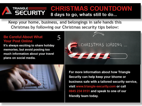 Christmas tip 5, 8 days to go!...