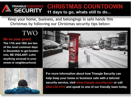 Christmas tip 2, 11 days to go!...