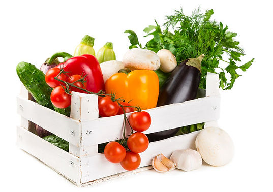 Fresh fruit and vegetable box delivered