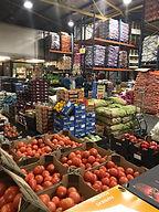 Boxes at spitalfields fruit market