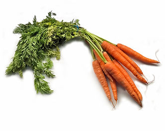 Fresh carrots from shop