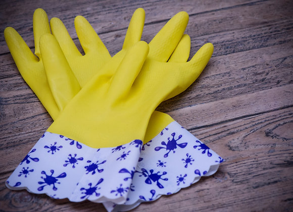 Children's rubber glove with Paintsplash Cuff -  Price includes P&P (UK only)