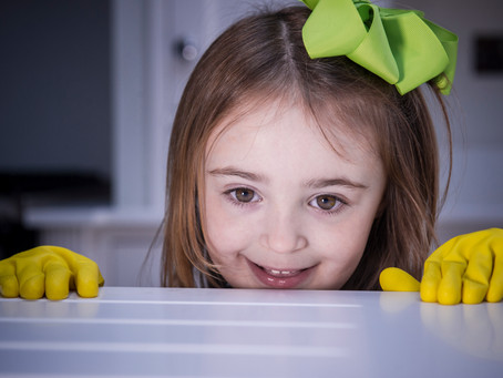 What's yellow, cute and brings a smile to your face at Easter?...Our mini rubber gloves of cours