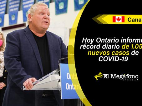 Ontario anuncia fechas de reapertura para Toronto, Peel Region, Ottawa y York Region