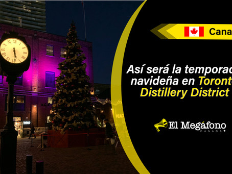 Christmas Market cancelado, Distillery District celebra la temporada con un nuevo Winter Village