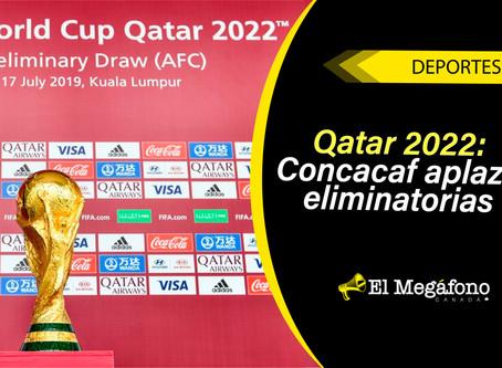 CONCACAF y la FIFA aplazan los clasificatorios para la Copa Mundial Qatar 2022 hasta marzo de 2021