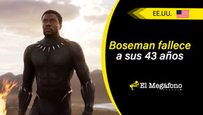 Muere Chadwick Boseman, actor protagonista de 'Black Panther'