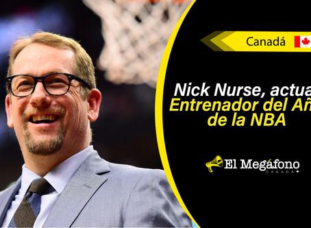 Nick Nurse continuará con los Raptors tras una extensión de contrato por varios años más