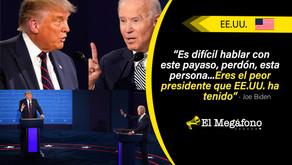 Elecciones en EE.UU.: Trump vs. Biden en uno de los debates más tensos y hostiles