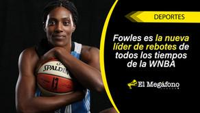 Sylvia Fowles de Minnesota Lynx se convierte en la nueva Rebound Queen de la WNBA