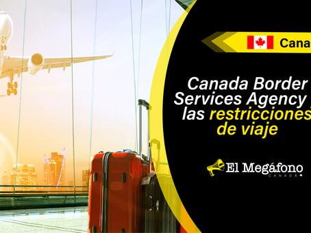 Se extienden restricciones de viaje no esenciales entre Canadá y otros países