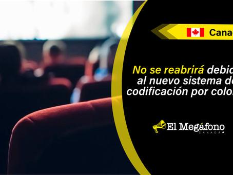Cineplex no reabrirá algunas de sus salas de cine de Ontario