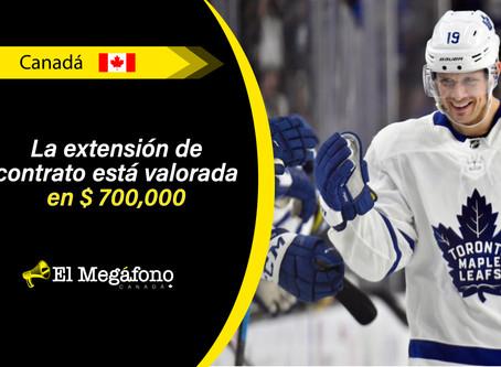 Jason Spezza firma extensión de contrato por un año con los Maple Leafs