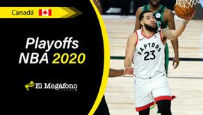 Los Raptors están a un paso de la eliminación tras ser derrotados por los Celtics