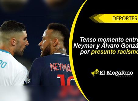 Neymar fue expulsado tras su altercado con Álvaro González en el clásico ante Marsella