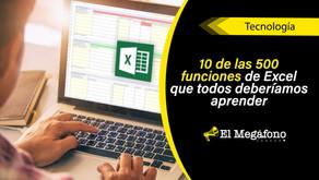 """10 funciones de Excel """"que todos deberíamos aprender"""", según Harvard University"""